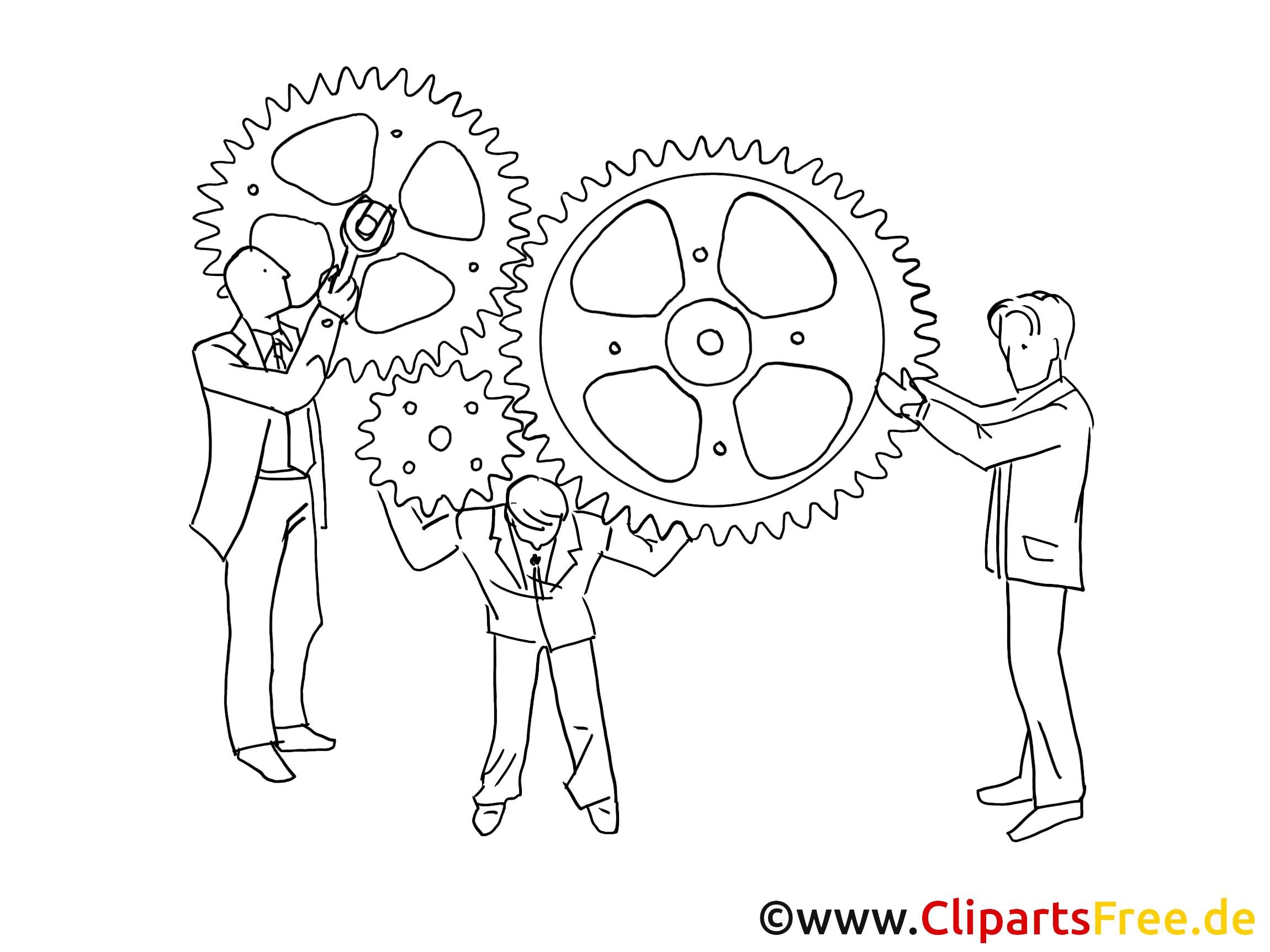 Job clip art à colorier – Entreprise images