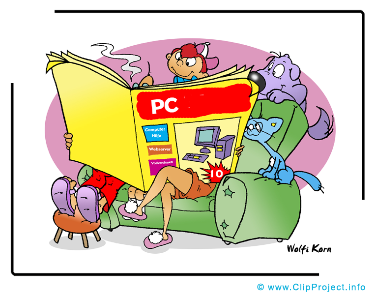 Journal informatique cliparts – Entreprise images