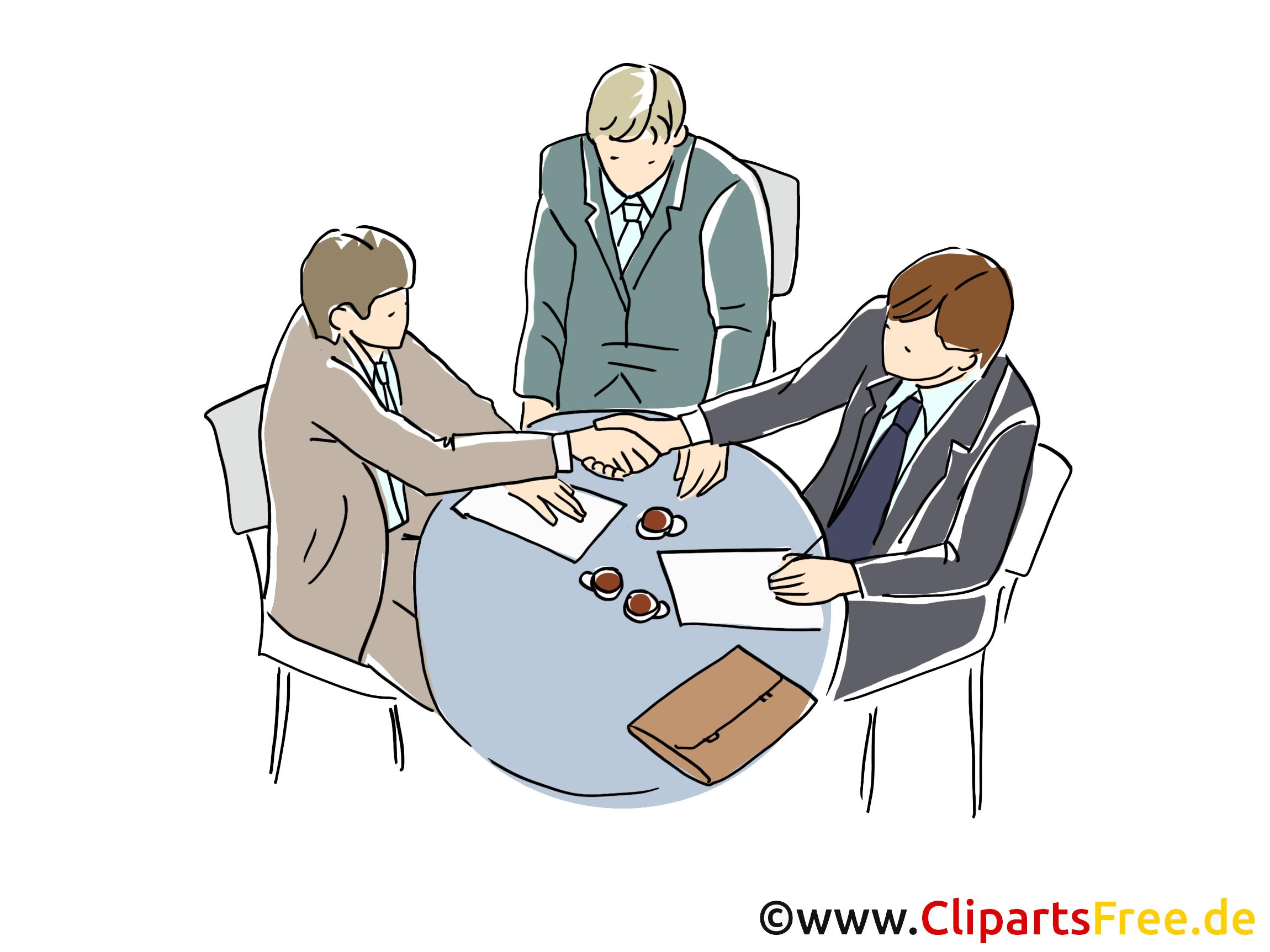 Meeting dessin gratuit – Entreprise image