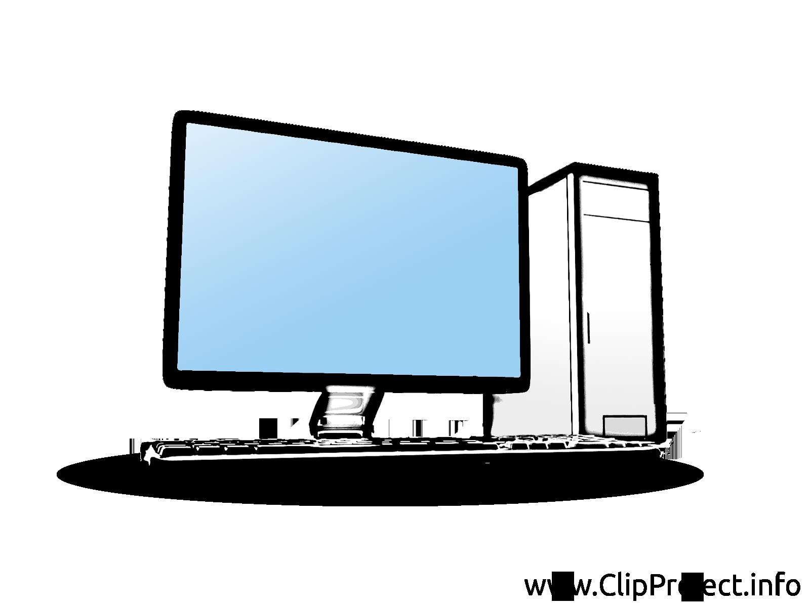 Ordinateur dessins gratuits – Entreprise clipart