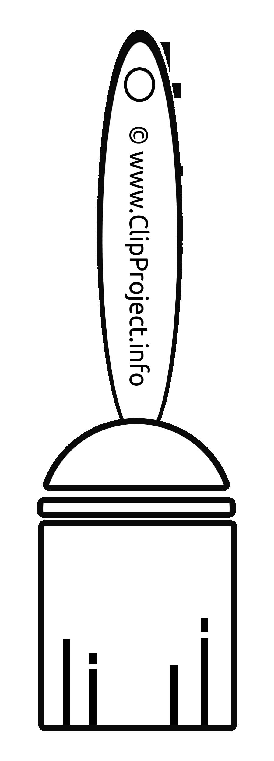 Pinceau blanc image gratuite – Entreprise illustration