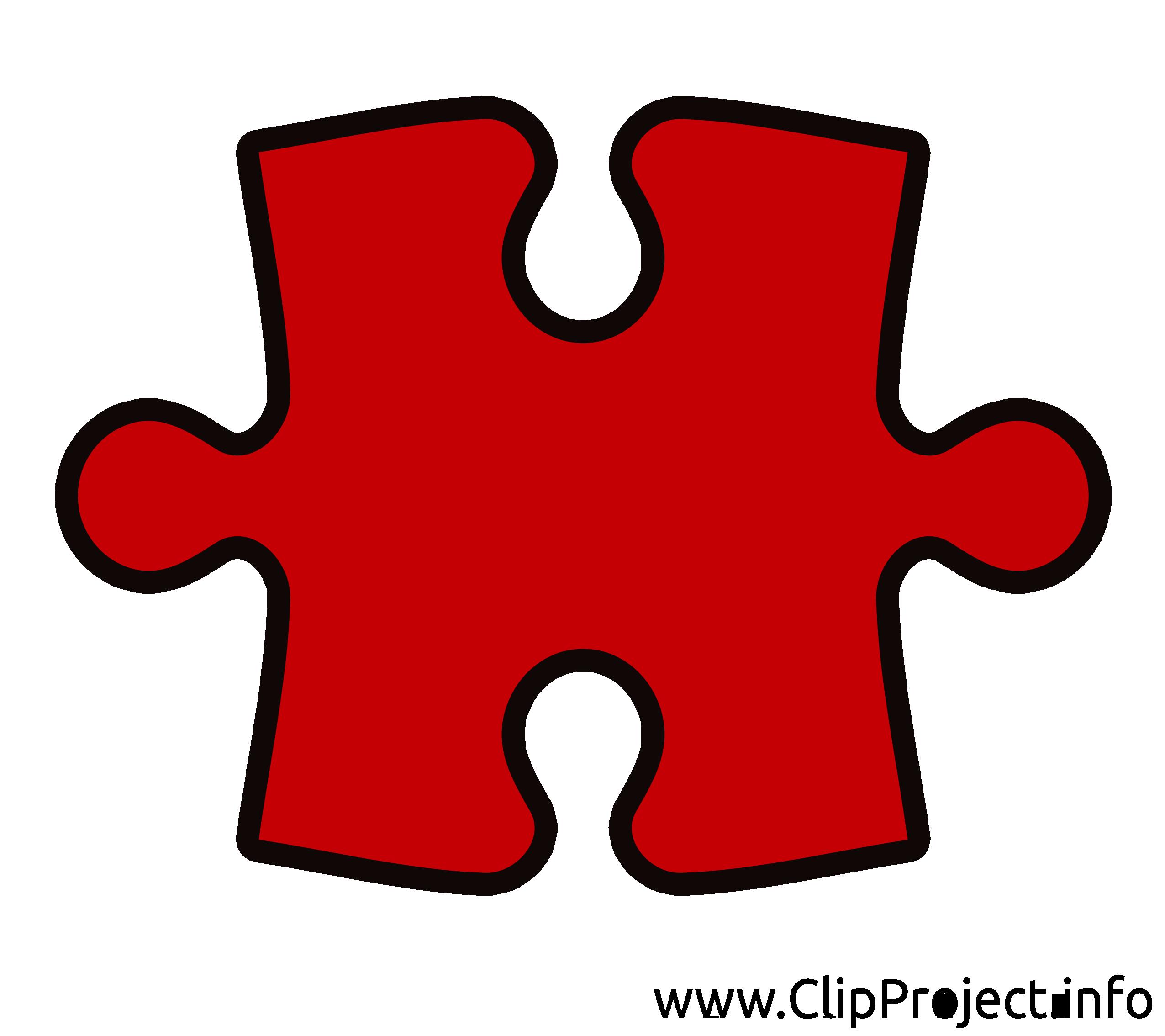 Puzzle clip art – Entreprise gratuite