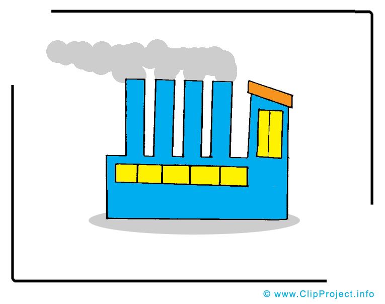Usine entreprise illustration à télécharger gratuite
