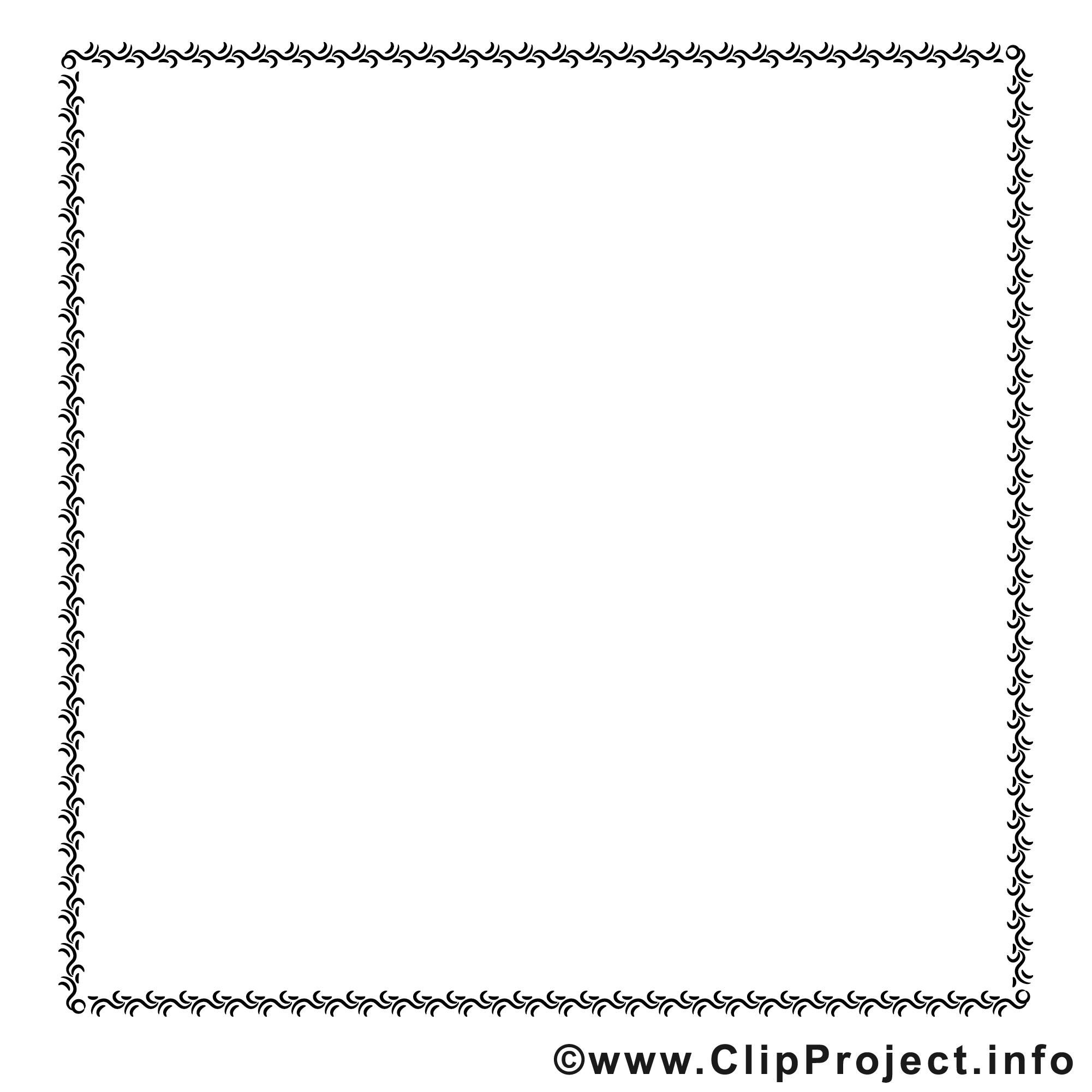 Bordure image gratuite – Cadre clipart