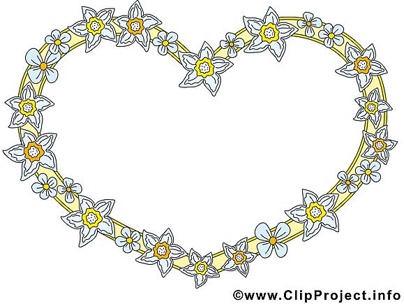 Coeur clipart – Cadre dessins gratuits