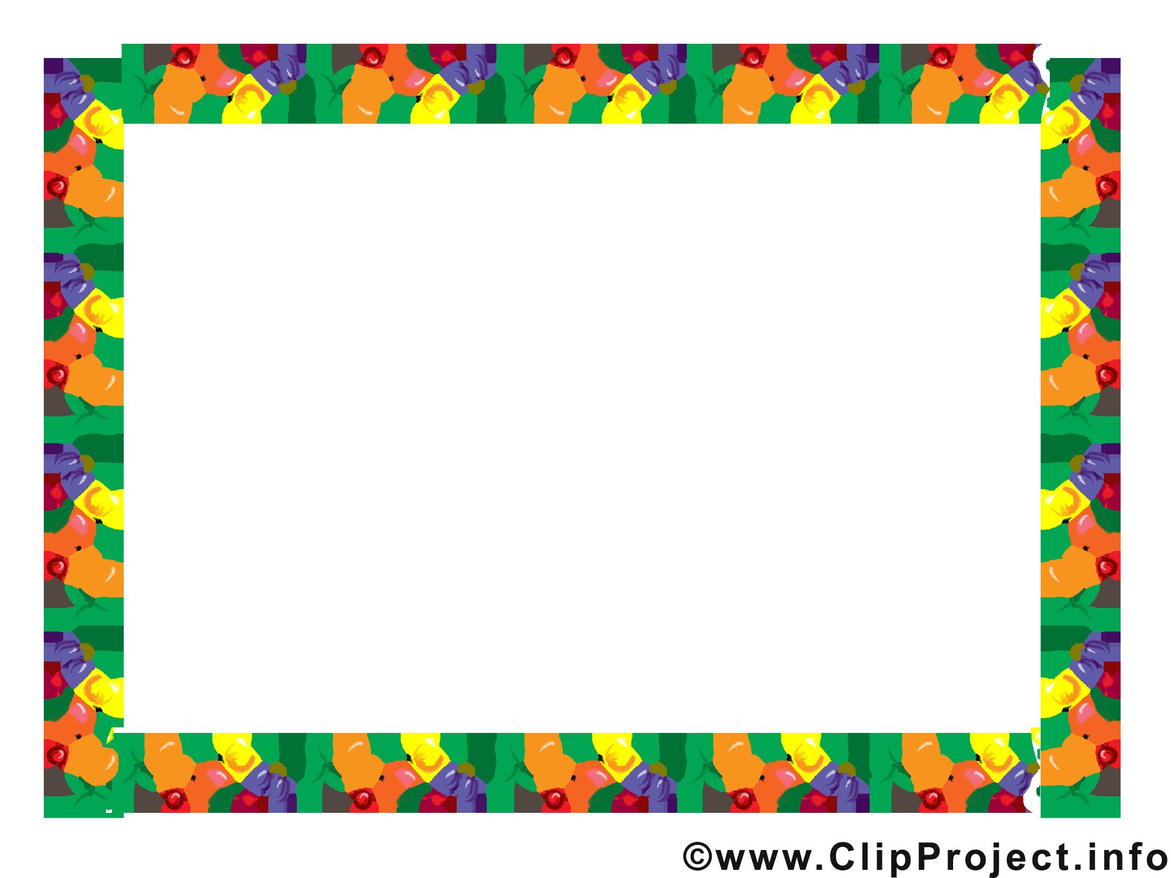 Fruits clipart – Cadre dessins gratuits