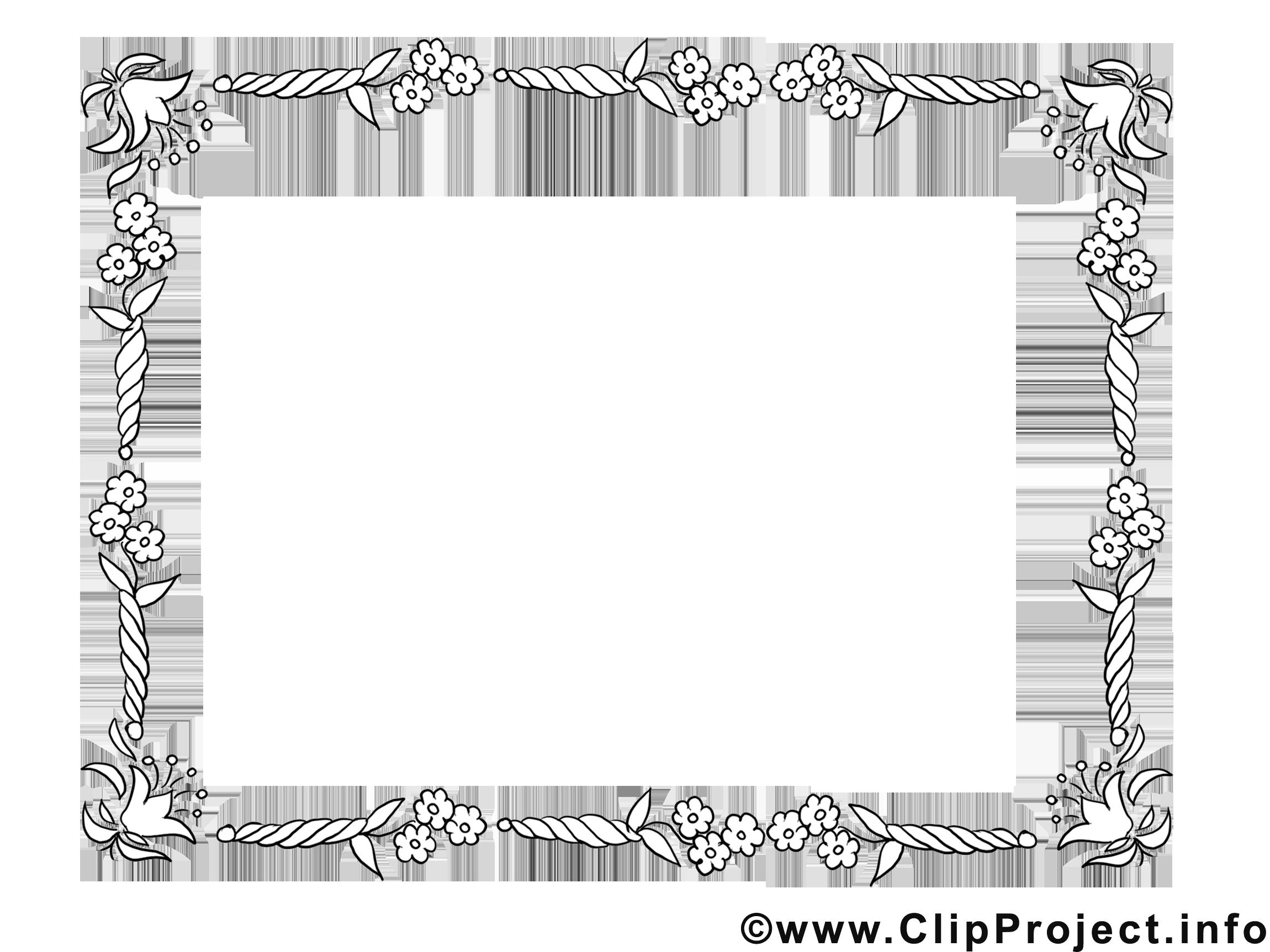 Image gratuite fleurs – Cadre illustration