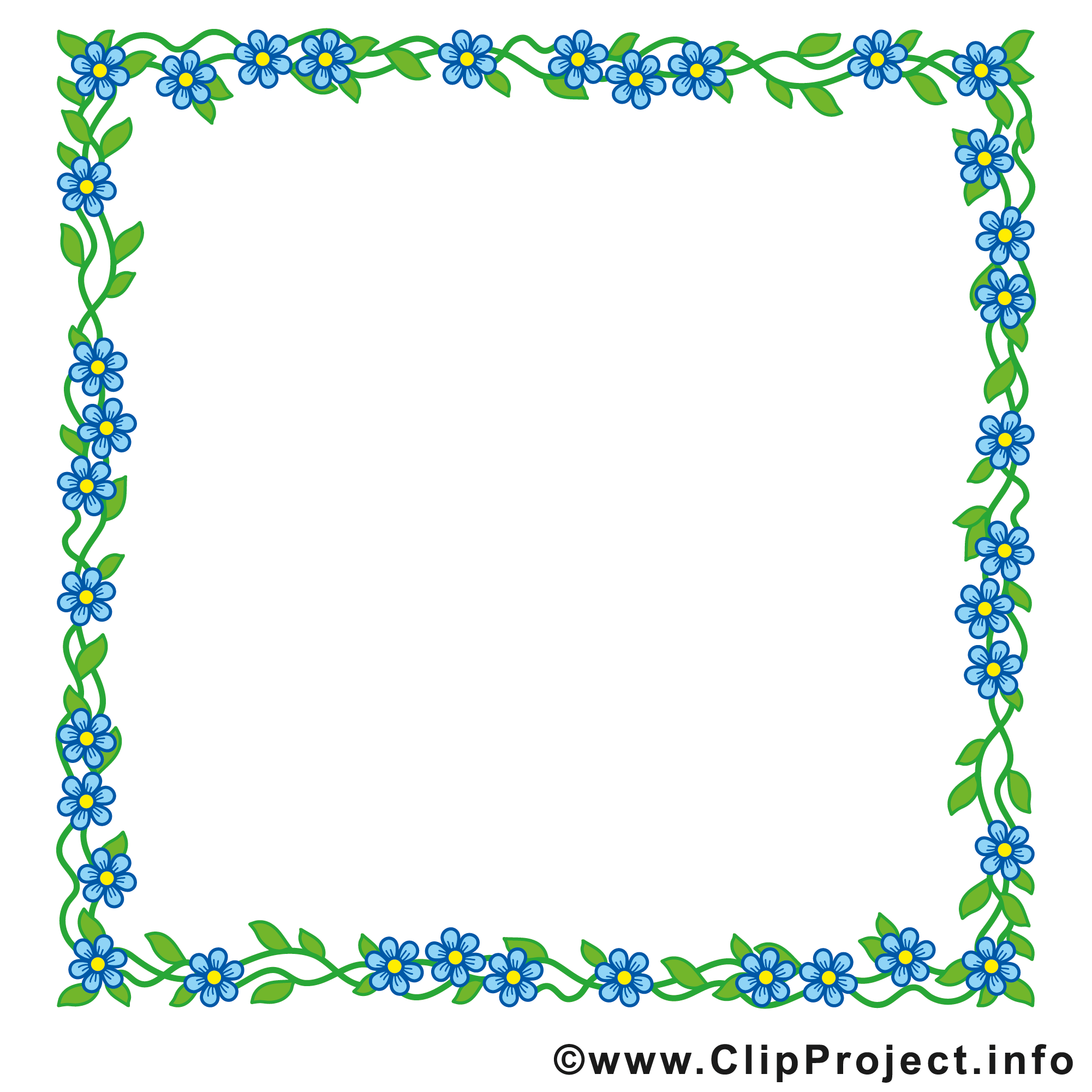 Images rectangle – Cadre clip art gratuit
