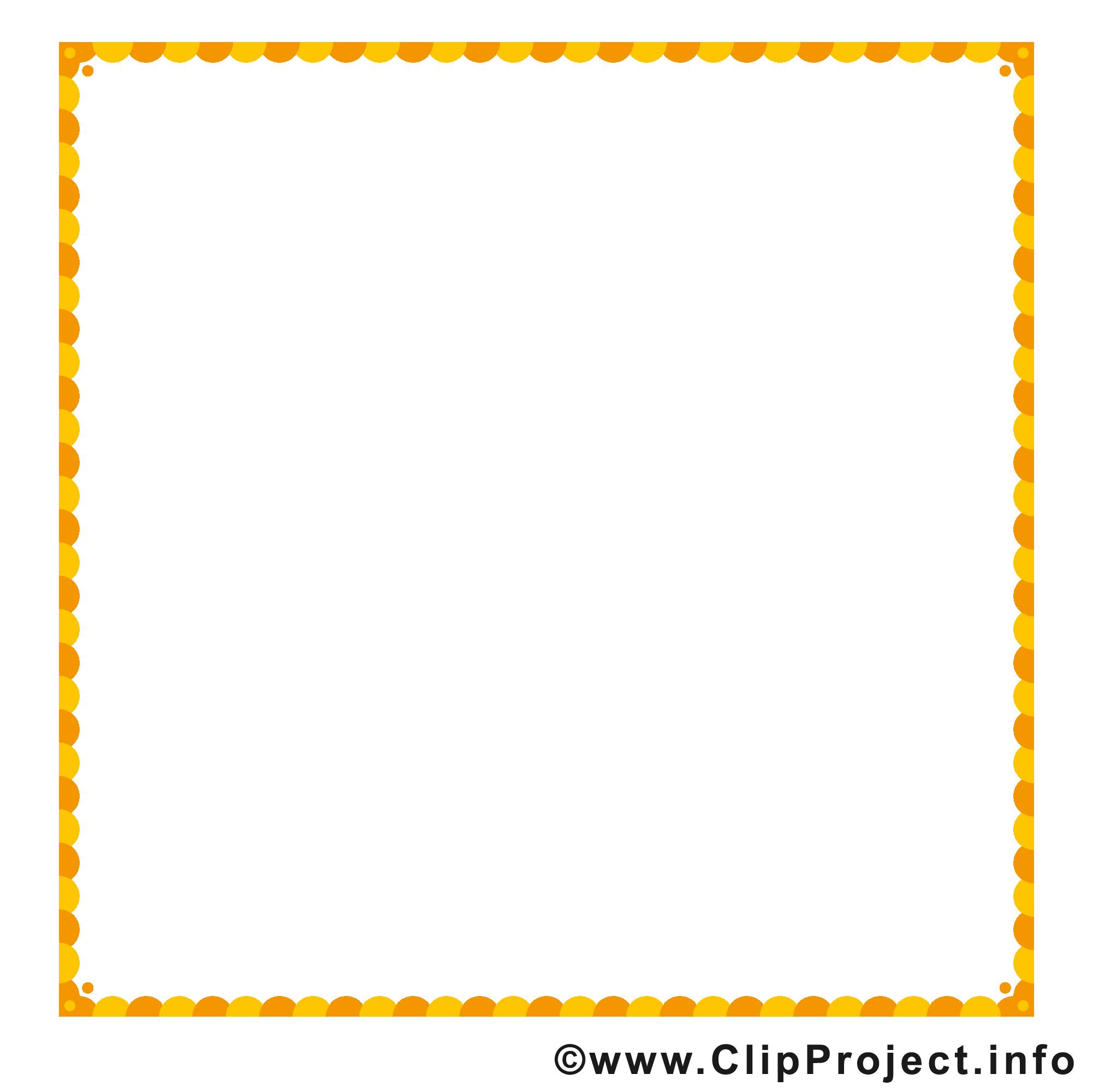 Orange carré dessins gratuits – Cadre clipart