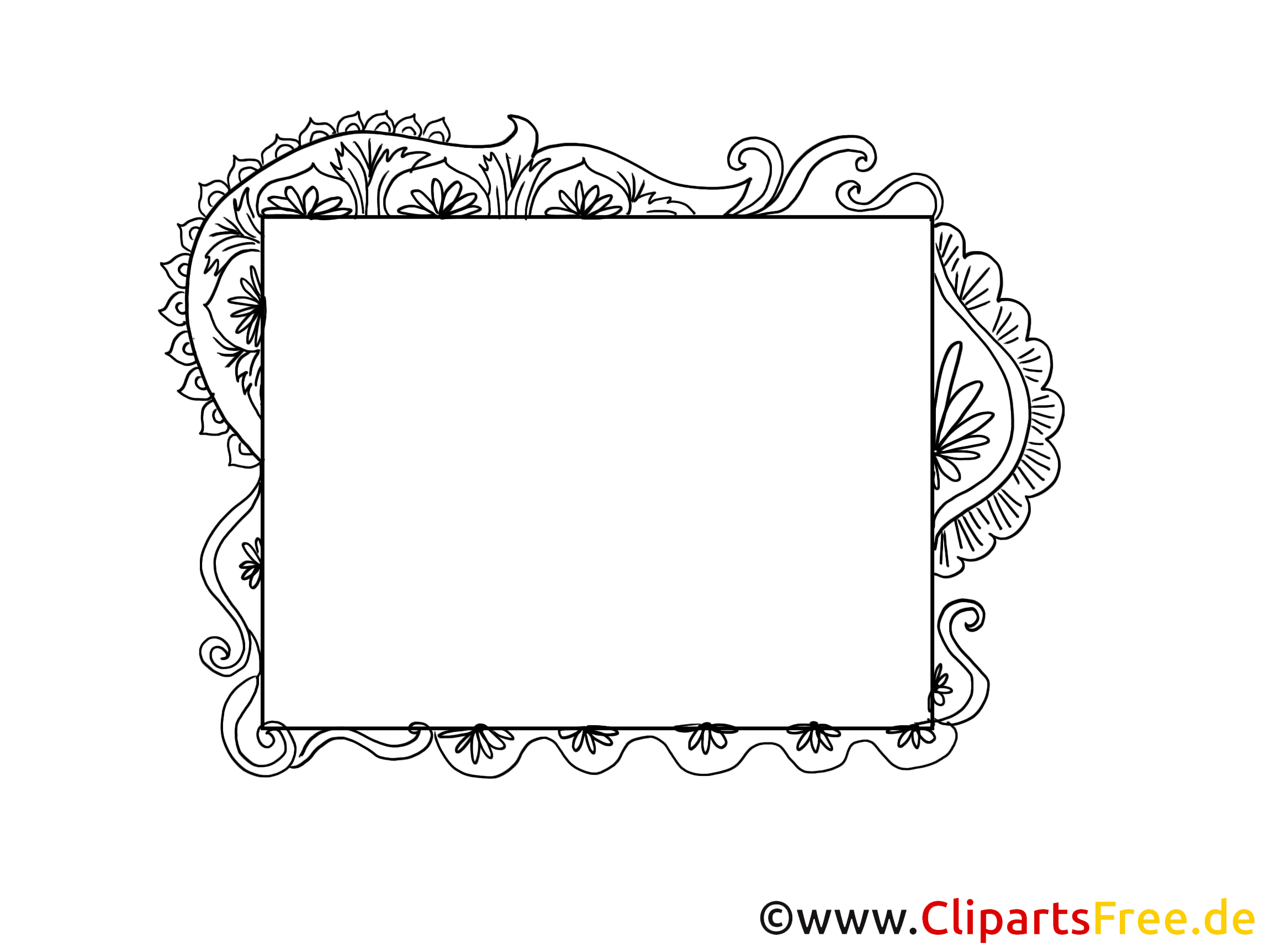 ornement clipart cadre dessins gratuits cadres dessin picture image graphic clip art. Black Bedroom Furniture Sets. Home Design Ideas