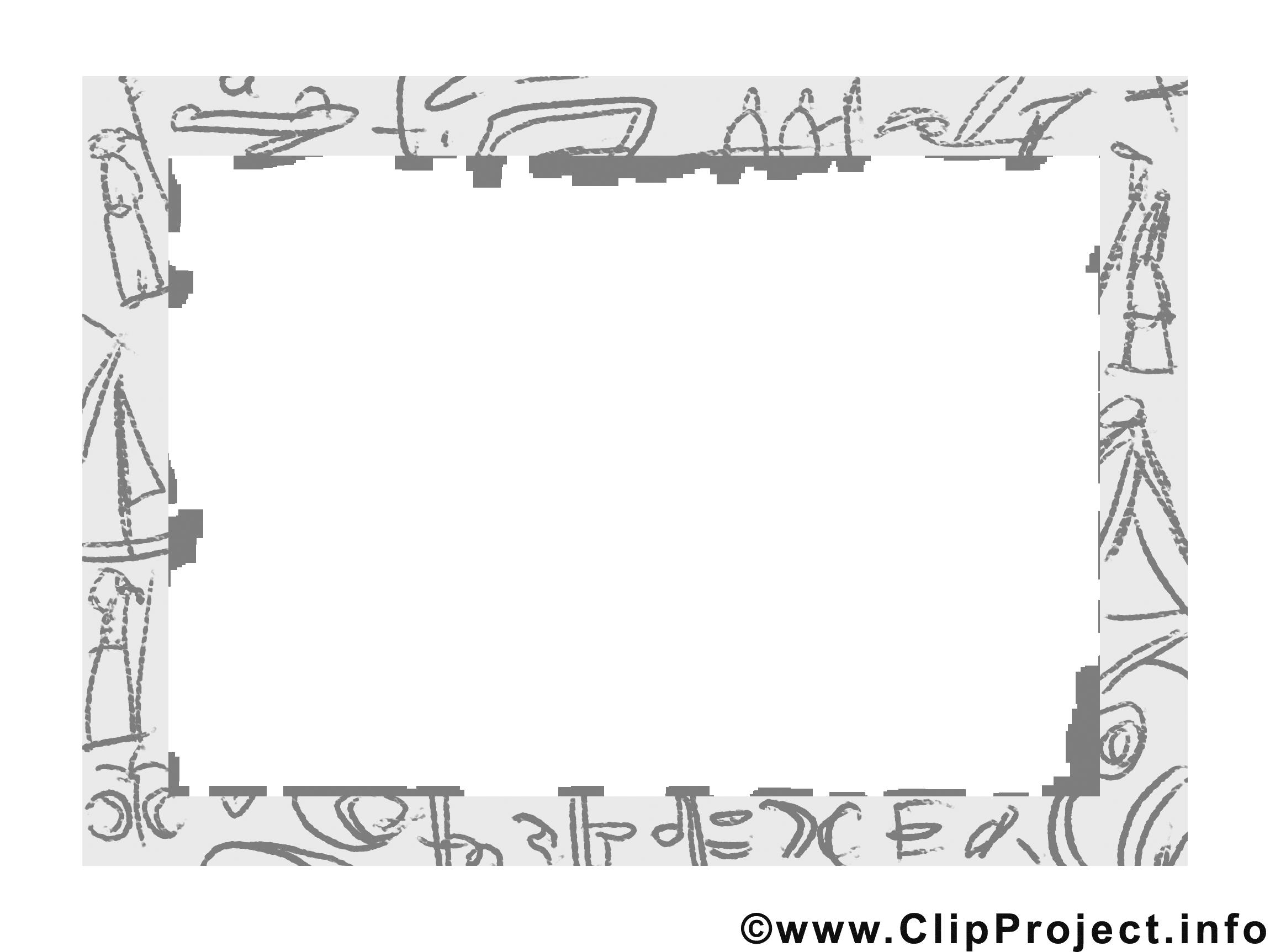 Ornement dessins gratuits – Cadre clipart