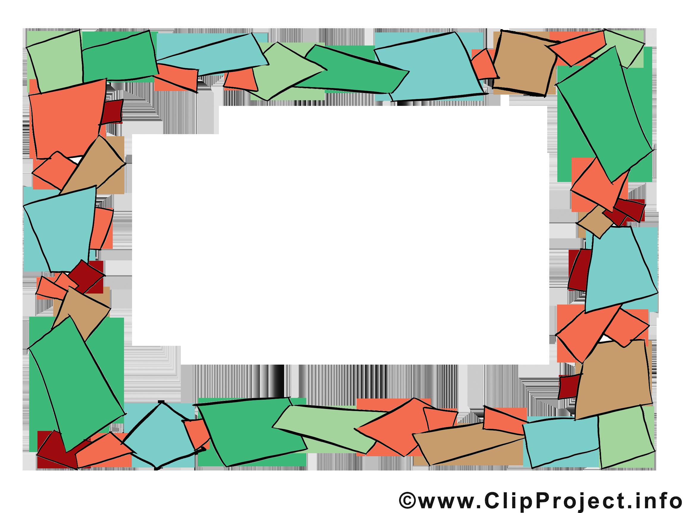 Papier illustration gratuite – Cadre clipart