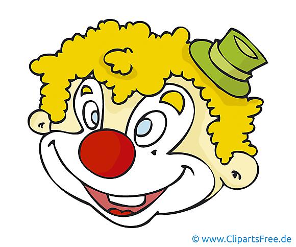 Clown carnaval image à télécharger gratuite