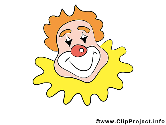 Clown clip art – Carnaval image gratuite