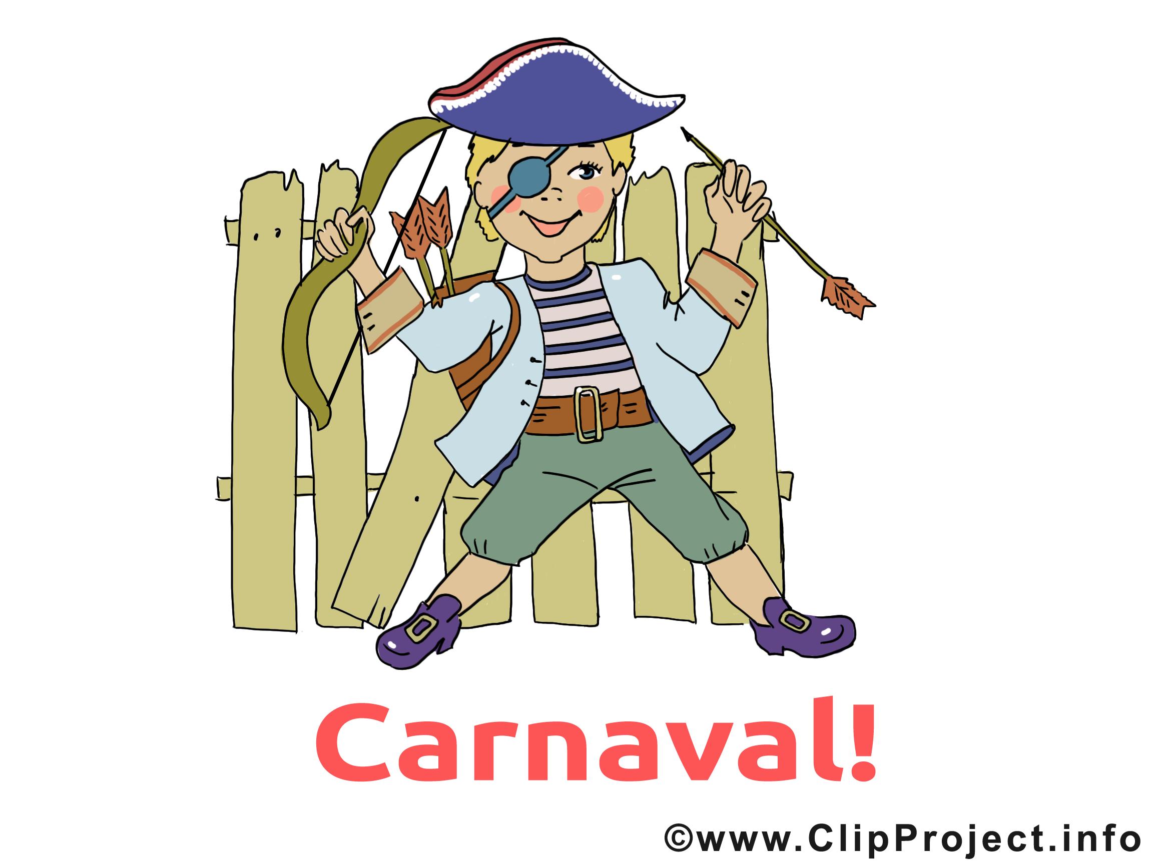Pirate images – Carnaval clip art gratuit