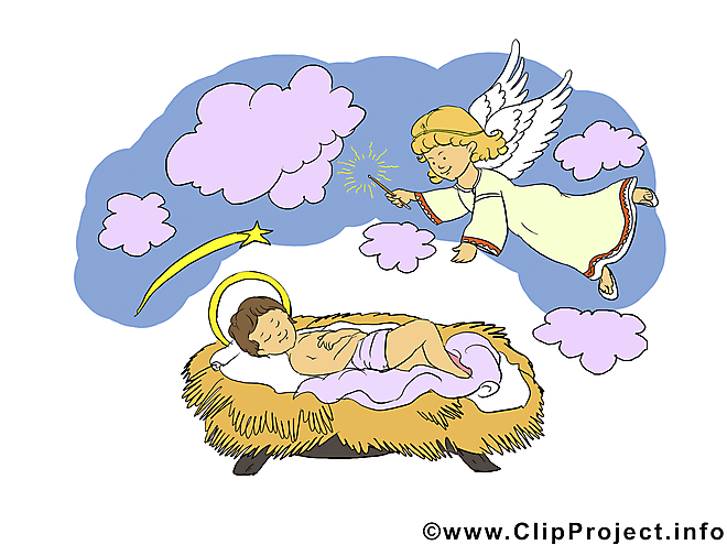 Anges noël image, clipart, e-card