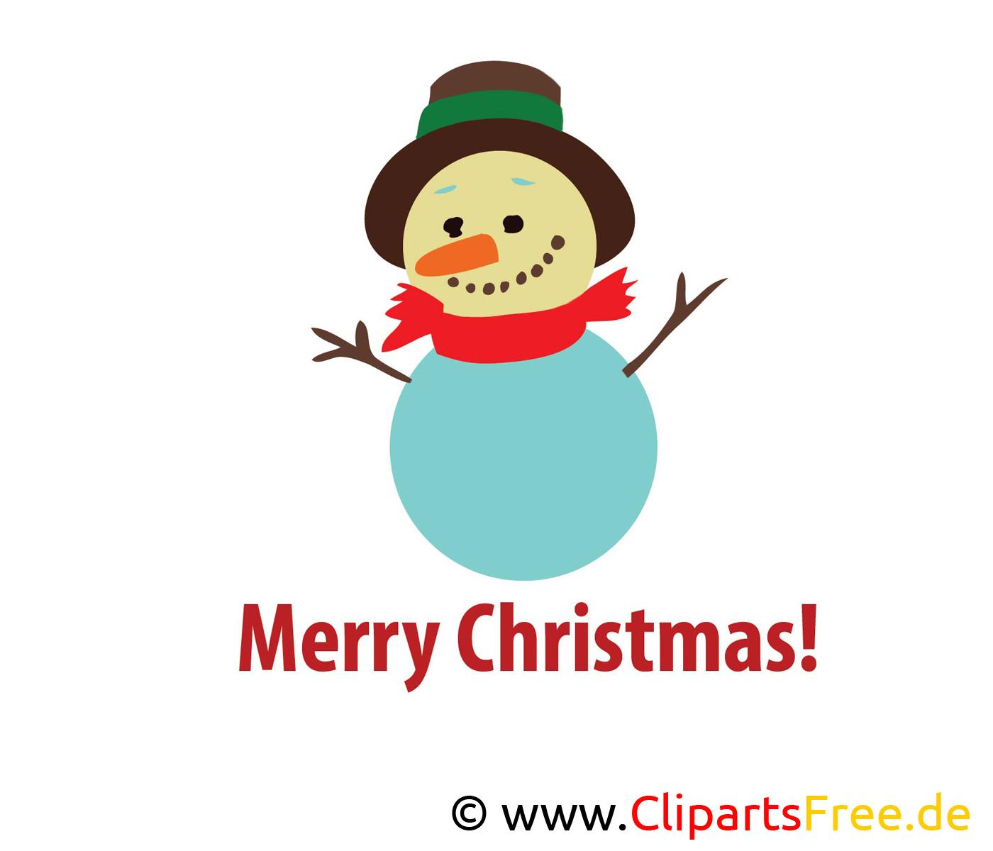 Bonhomme de neige clip art gratuit – Noel images
