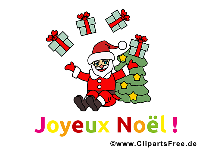 Clipart gratuit de Noël