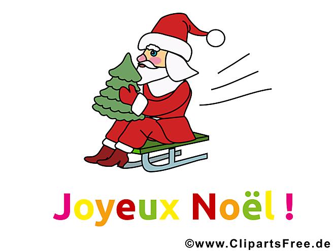 Père Noël clipart gratuite