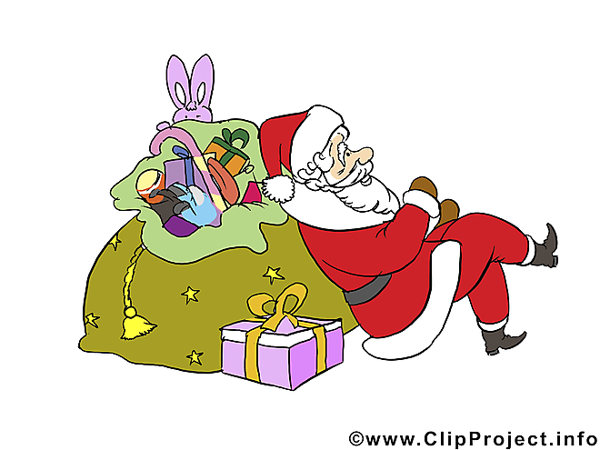 Père Noël cliparts gratuits de Noël