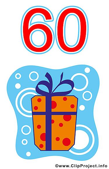 60 ans image gratuite anniversaire clipart cartes virtuelles anniversaire dessin picture - Clipart anniversaire 60 ans ...