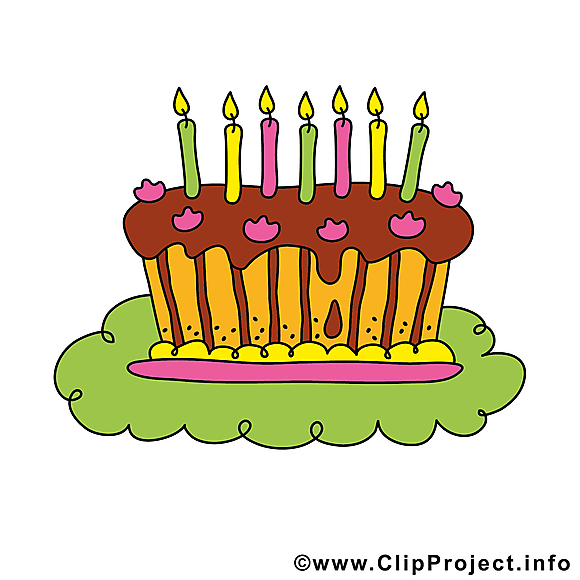 Image gratuite gâteau – Anniversaire illustration