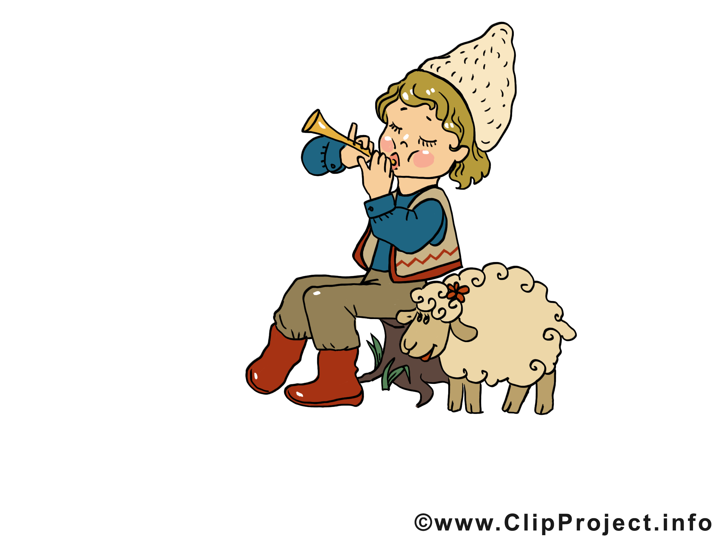 Mouton Mages Gratuites Anniversaire Clipart Cartes