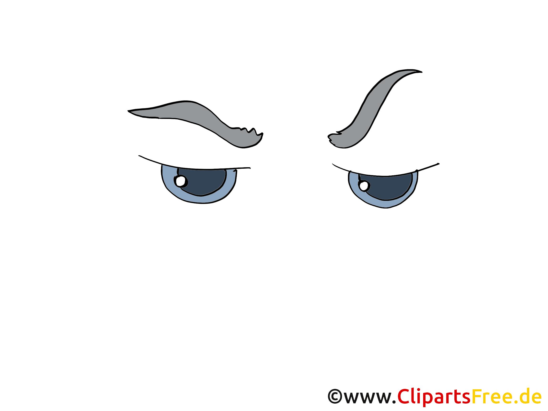 Clip art yeux – Dessin gratuite