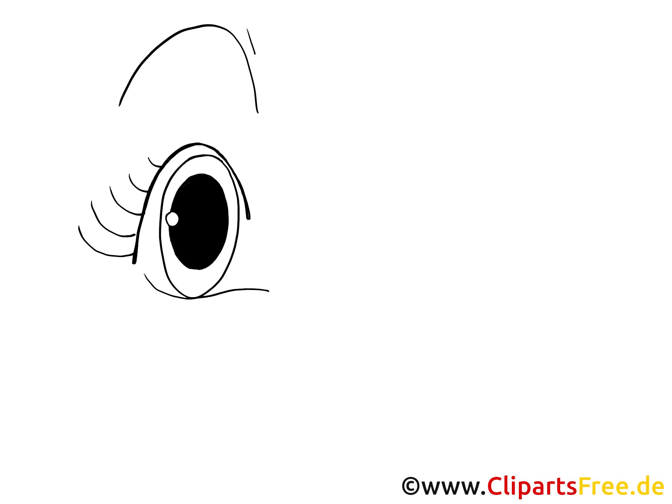 Dessin gratuit oeil – Dessin image