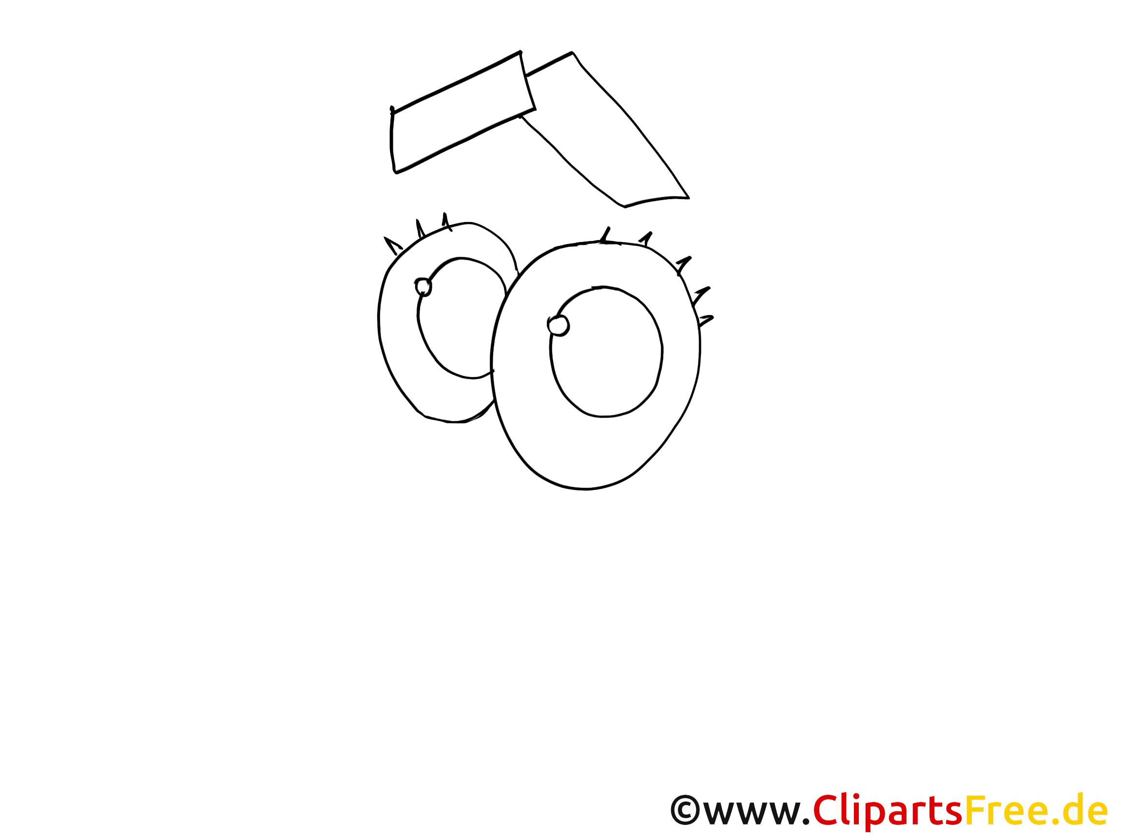 Drôle regard images à colorier – Dessin dessins gratuits