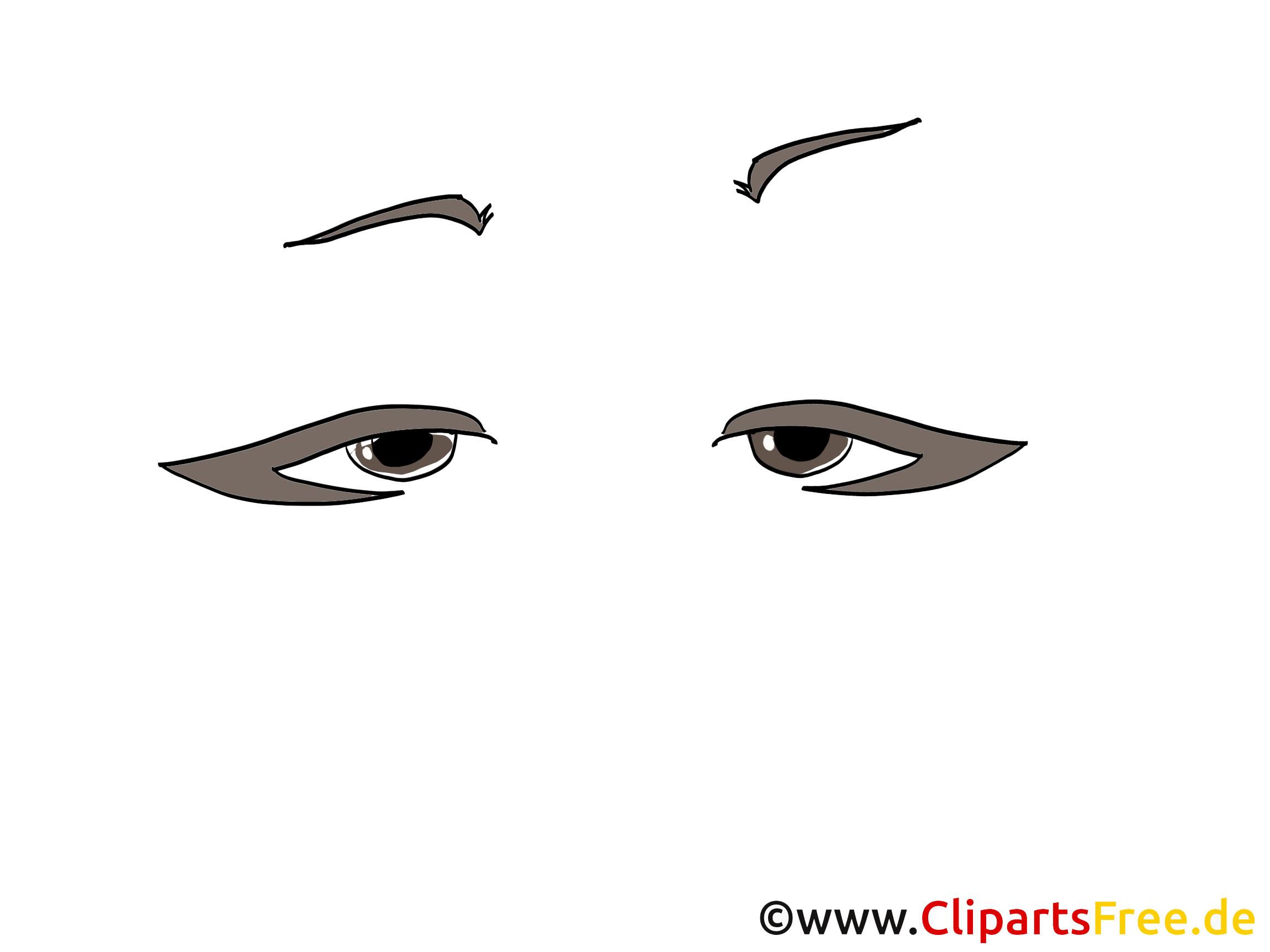 Illustration yeux – Dessin images