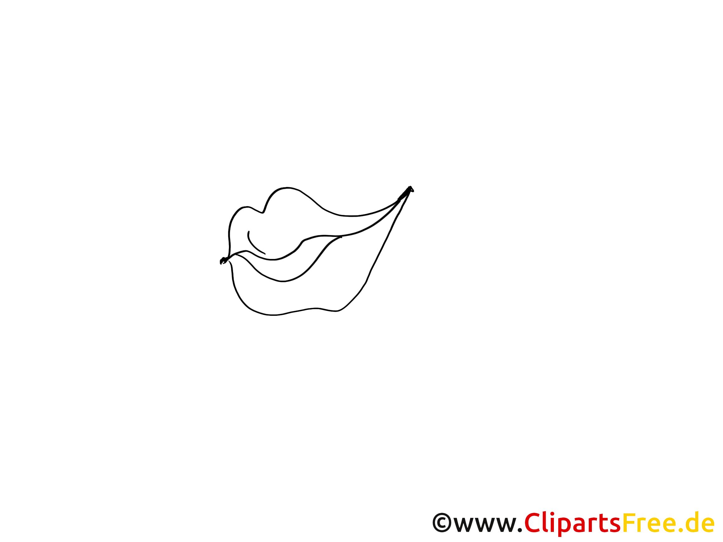 Lèvres dessin à imprimer – Dessin cliparts à télécharger