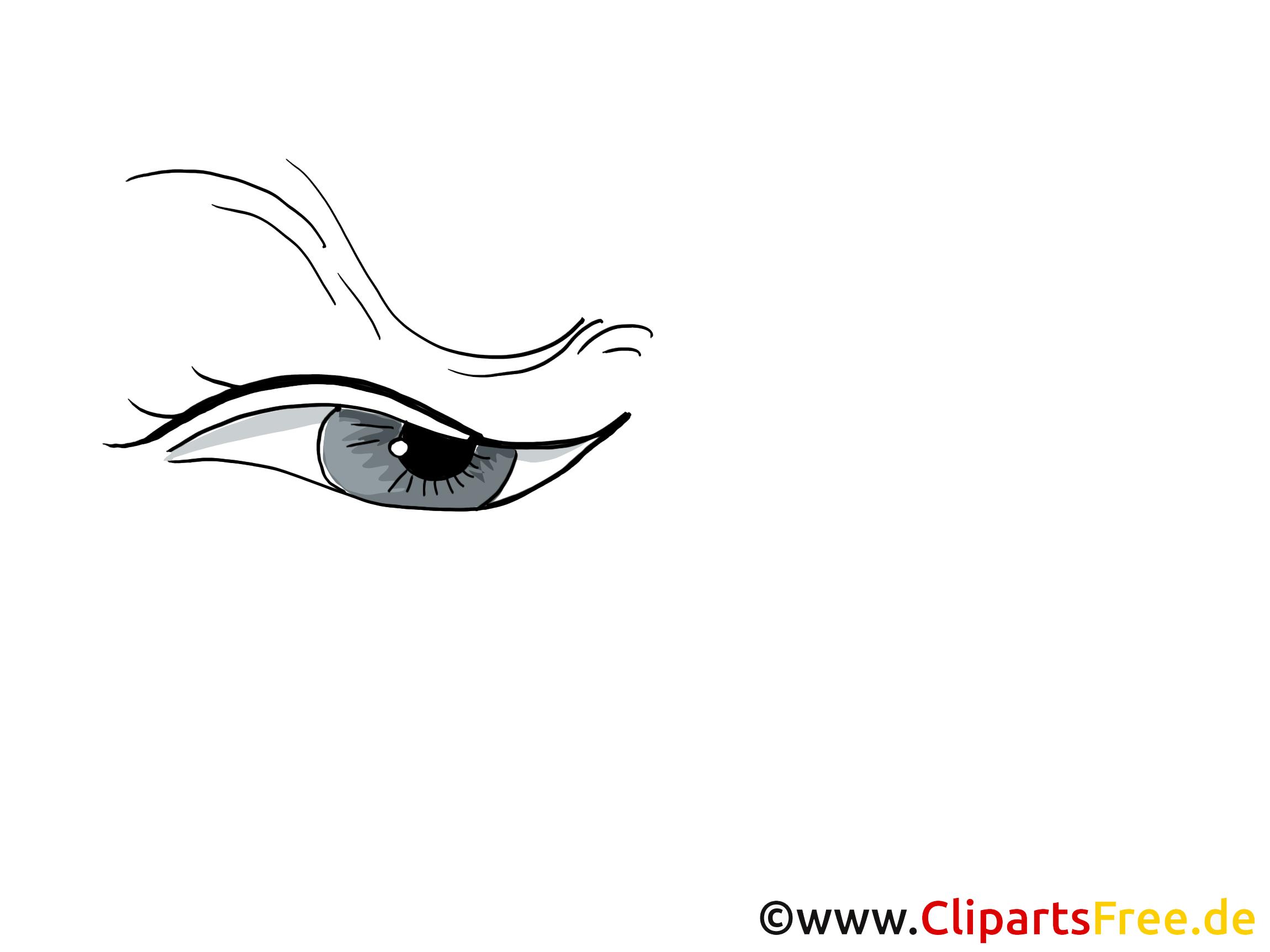 Oeil image gratuite – Dessin clipart