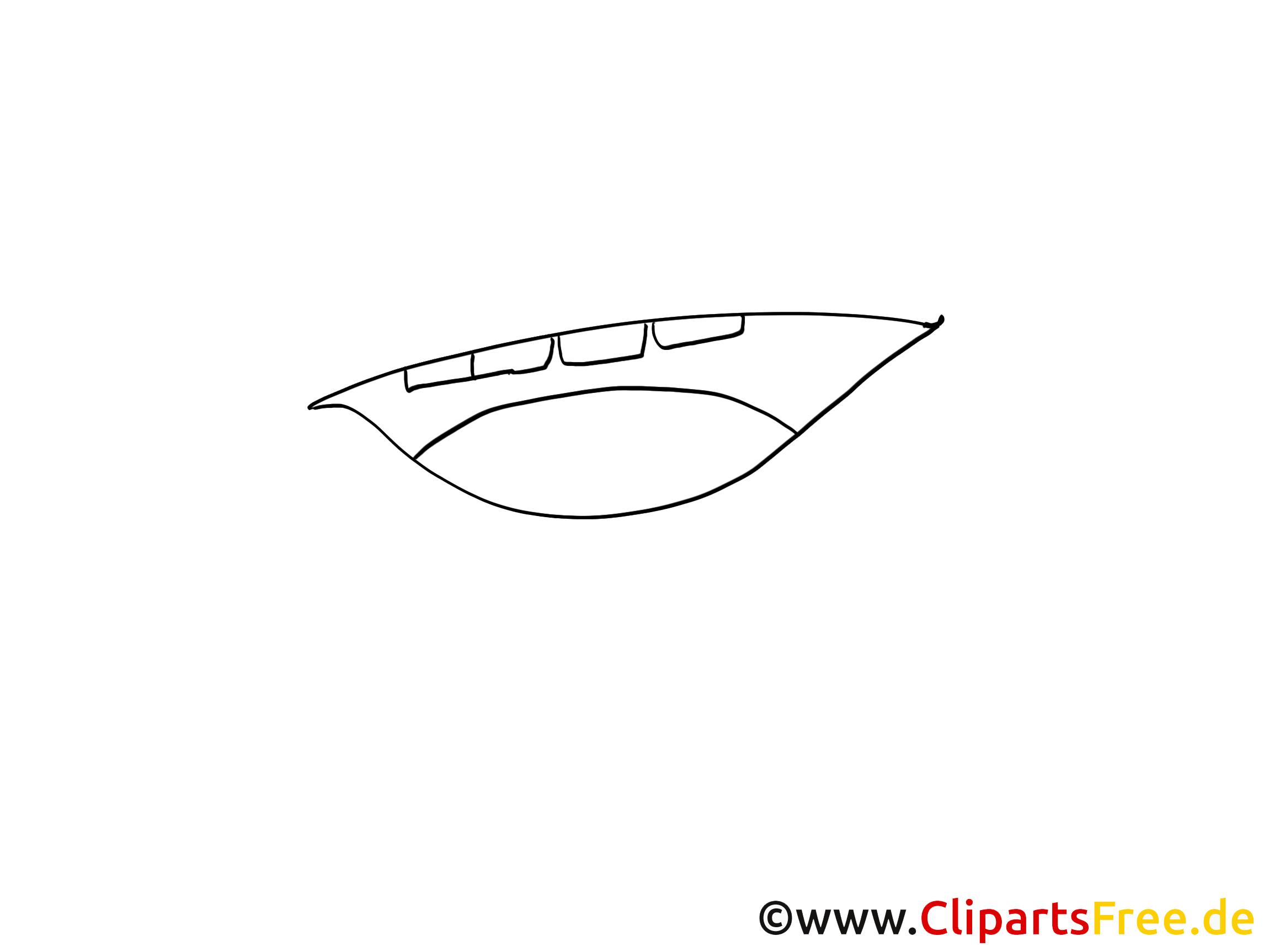 Ouverte bouche dessin image à colorier gratuite