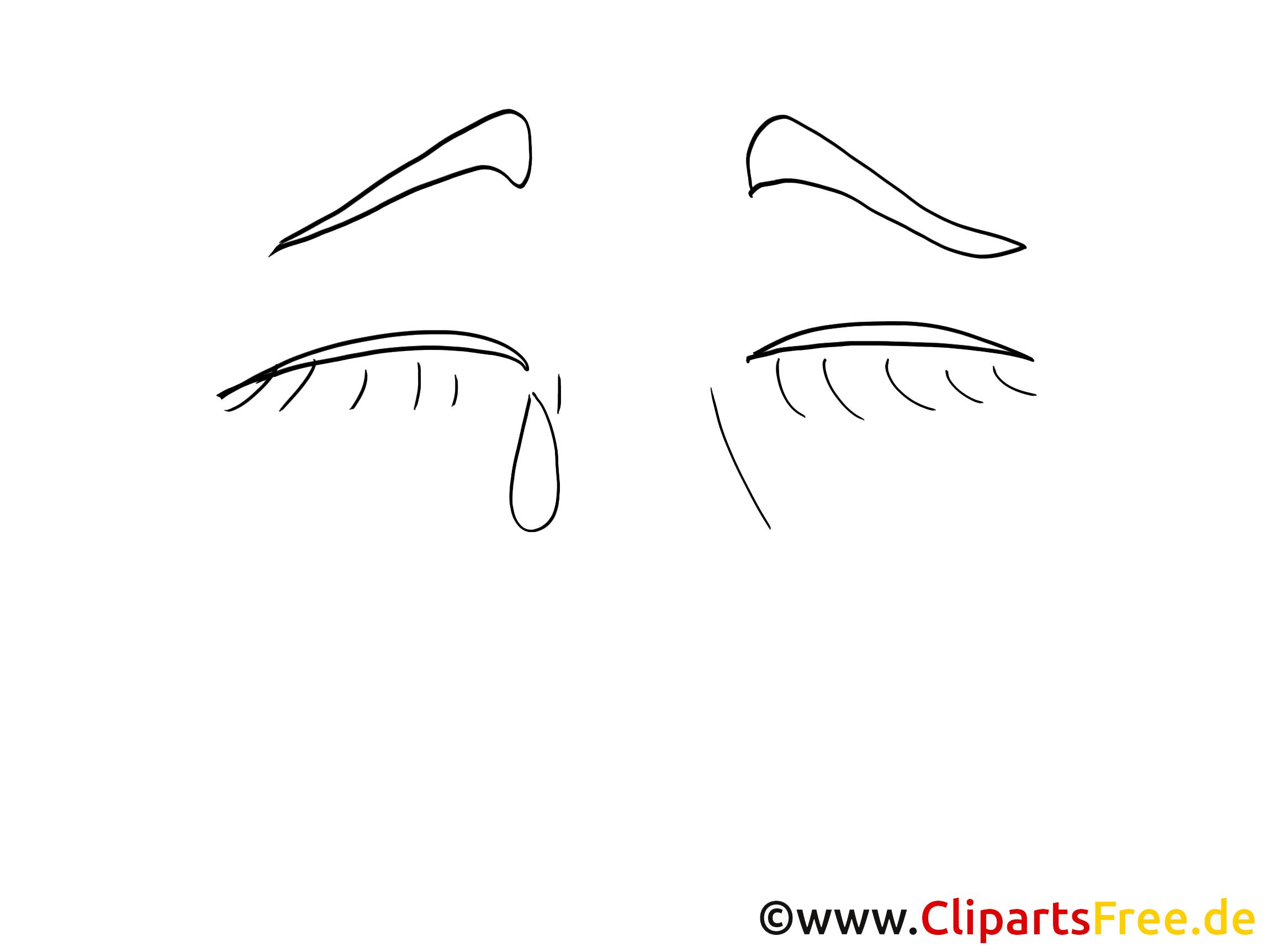 Pleure images – Dessin clip art gratuit