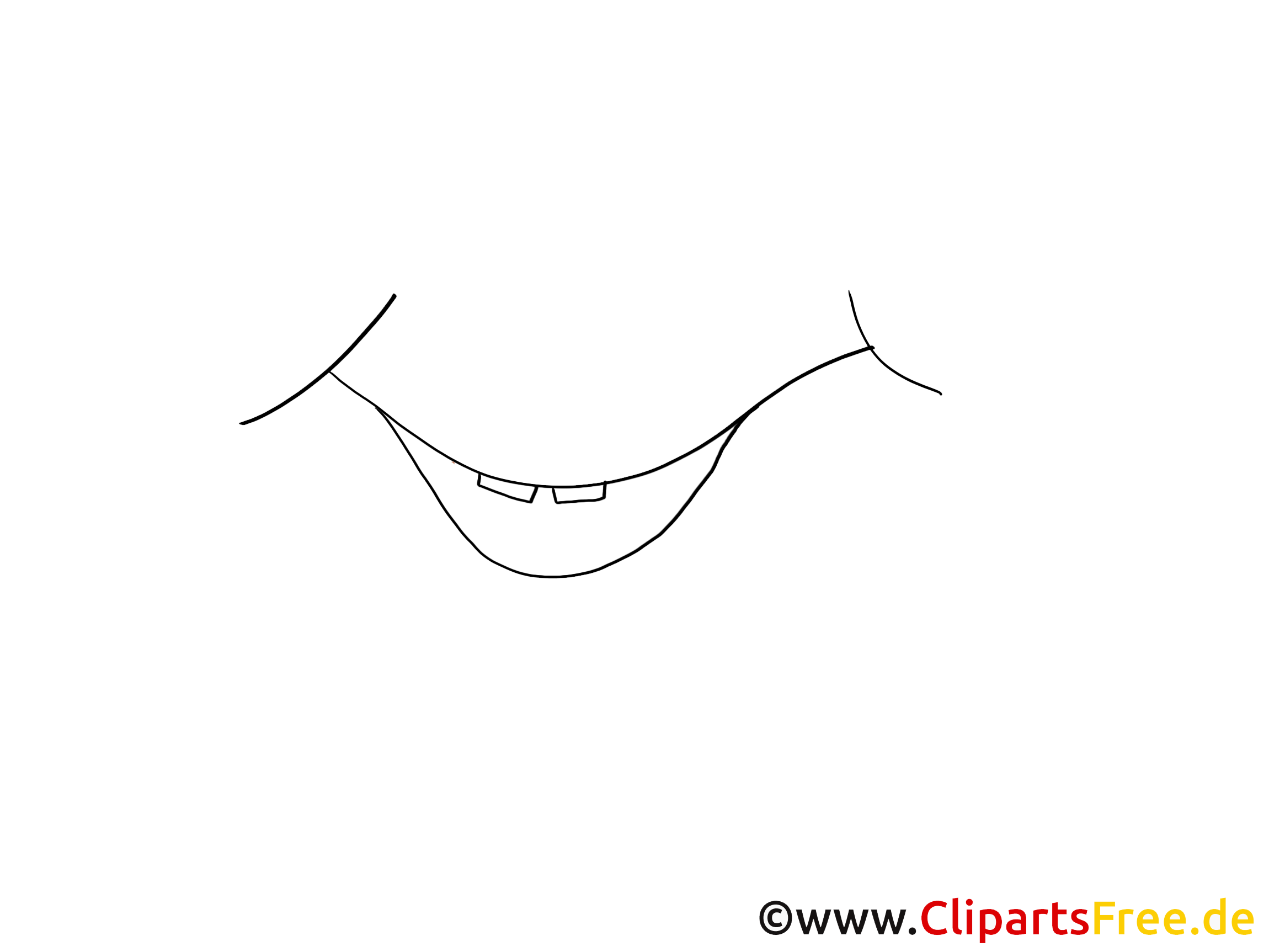 Sourire clip arts à imprimer – Dessin illustrations