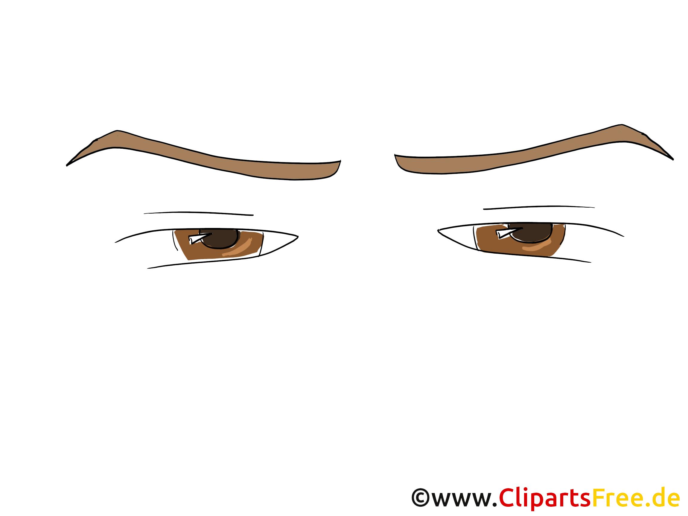Tristes yeux clipart – Dessin dessins gratuits