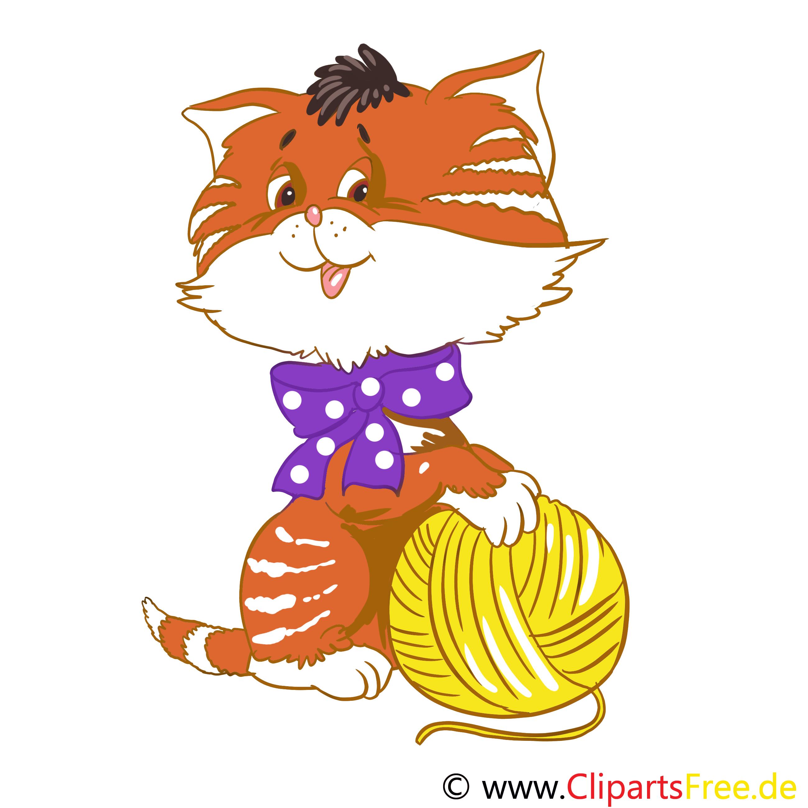 Chat clip art gratuit – Ferme dessin