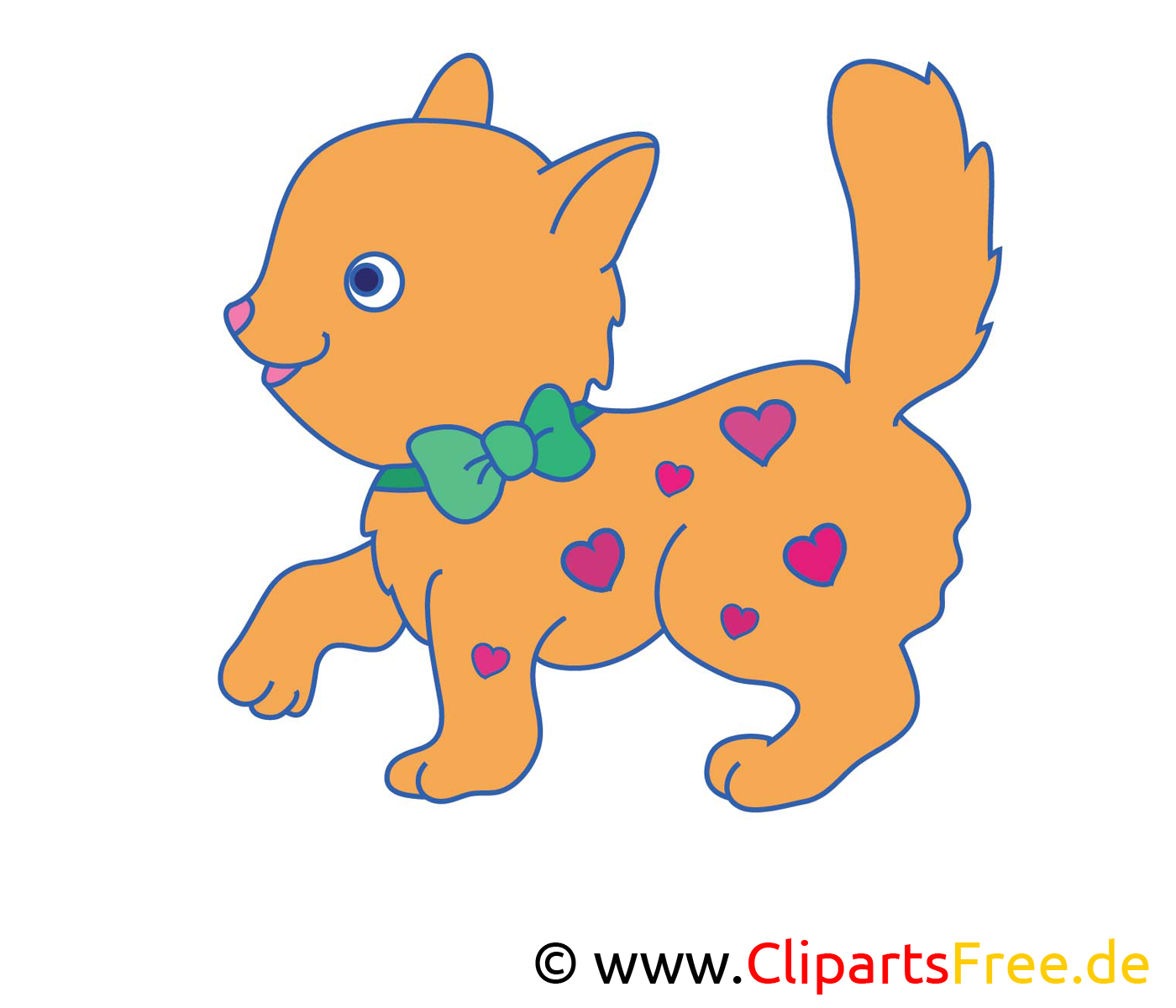 Cliparts gratuis chat – Ferme images