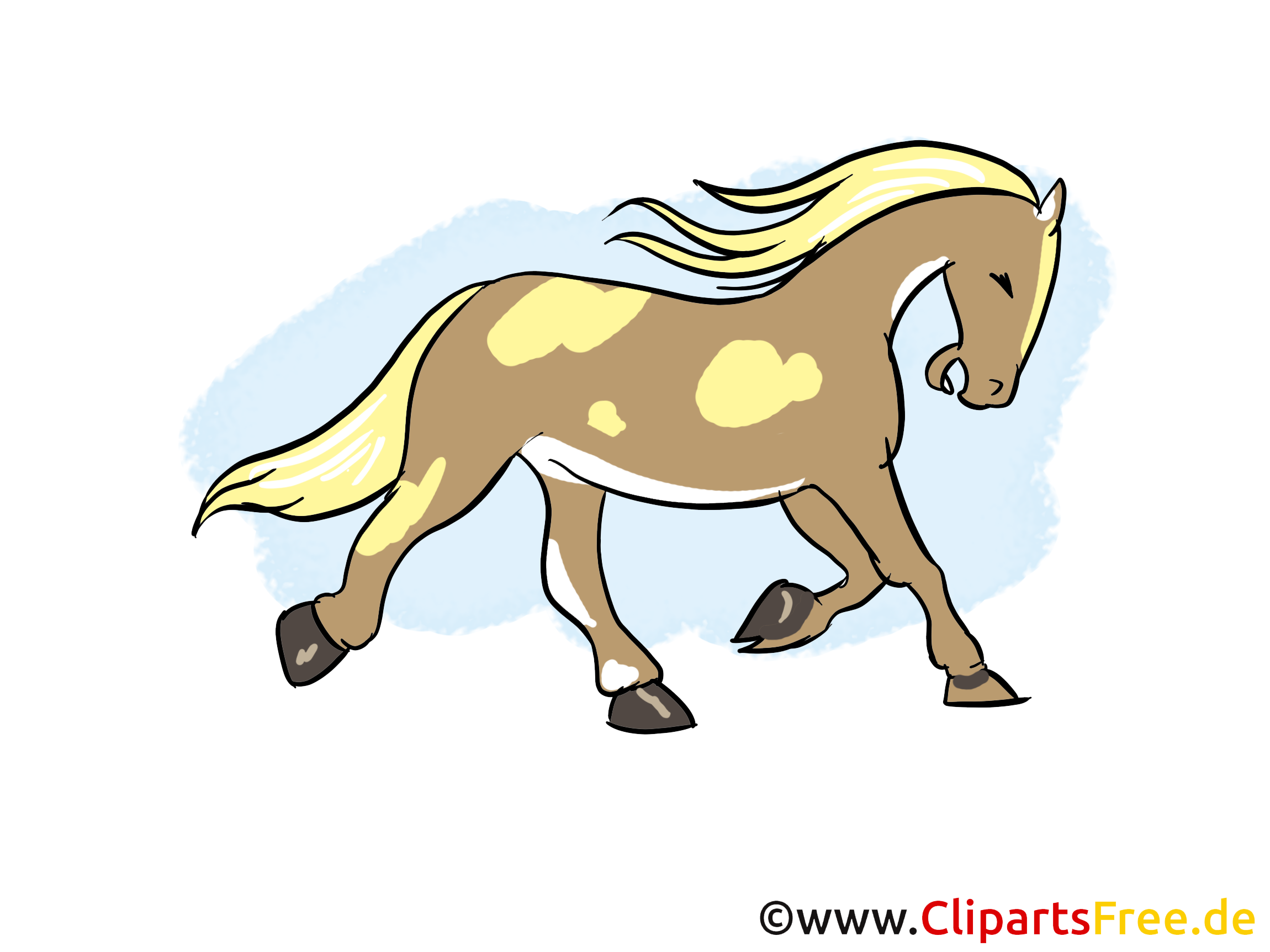 Cheval illustration images cliparts