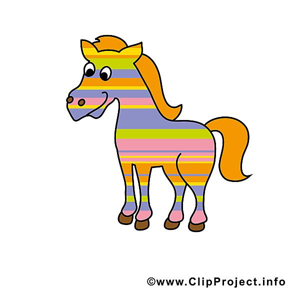 Clip art gratuit à télécharger  cheval images