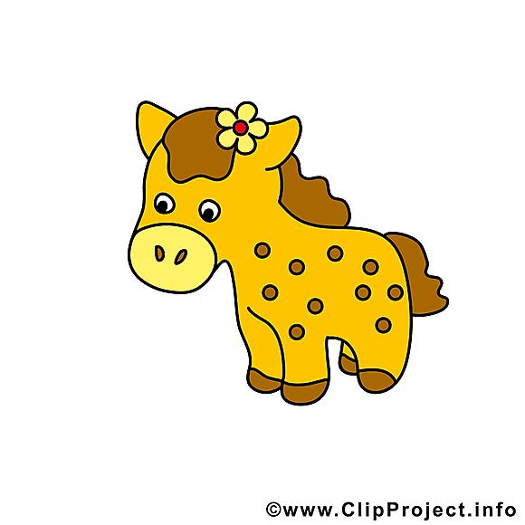 Clip arts gratuits cheval illustrations