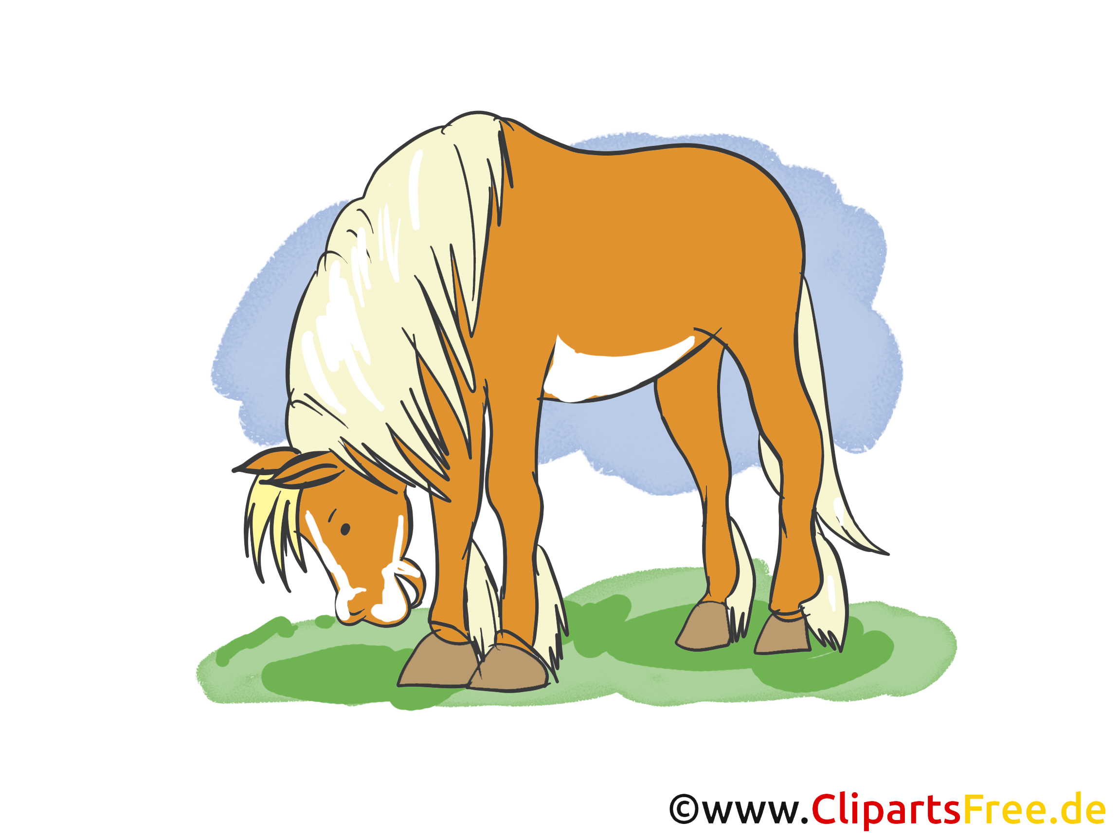 Clipart cheval dessins gratuits
