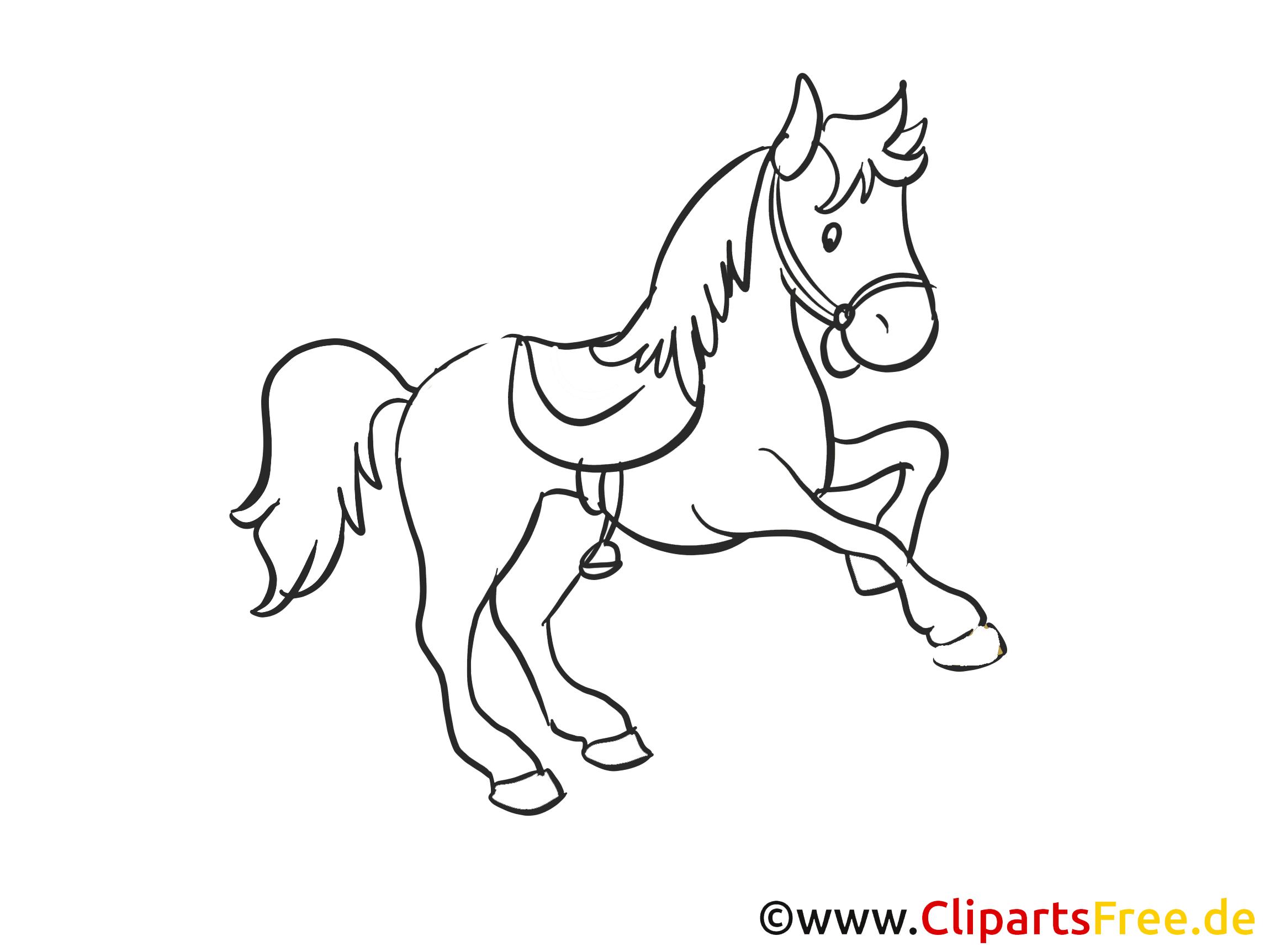 Clipart gratuit à imprimer cheval images