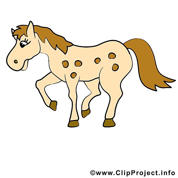 Dessin gratuit à télécharger cheval image