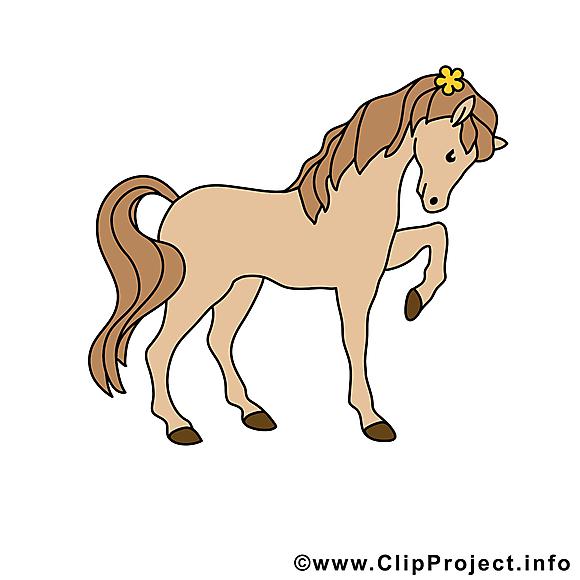 Dessin gratuit cheval à télécharger