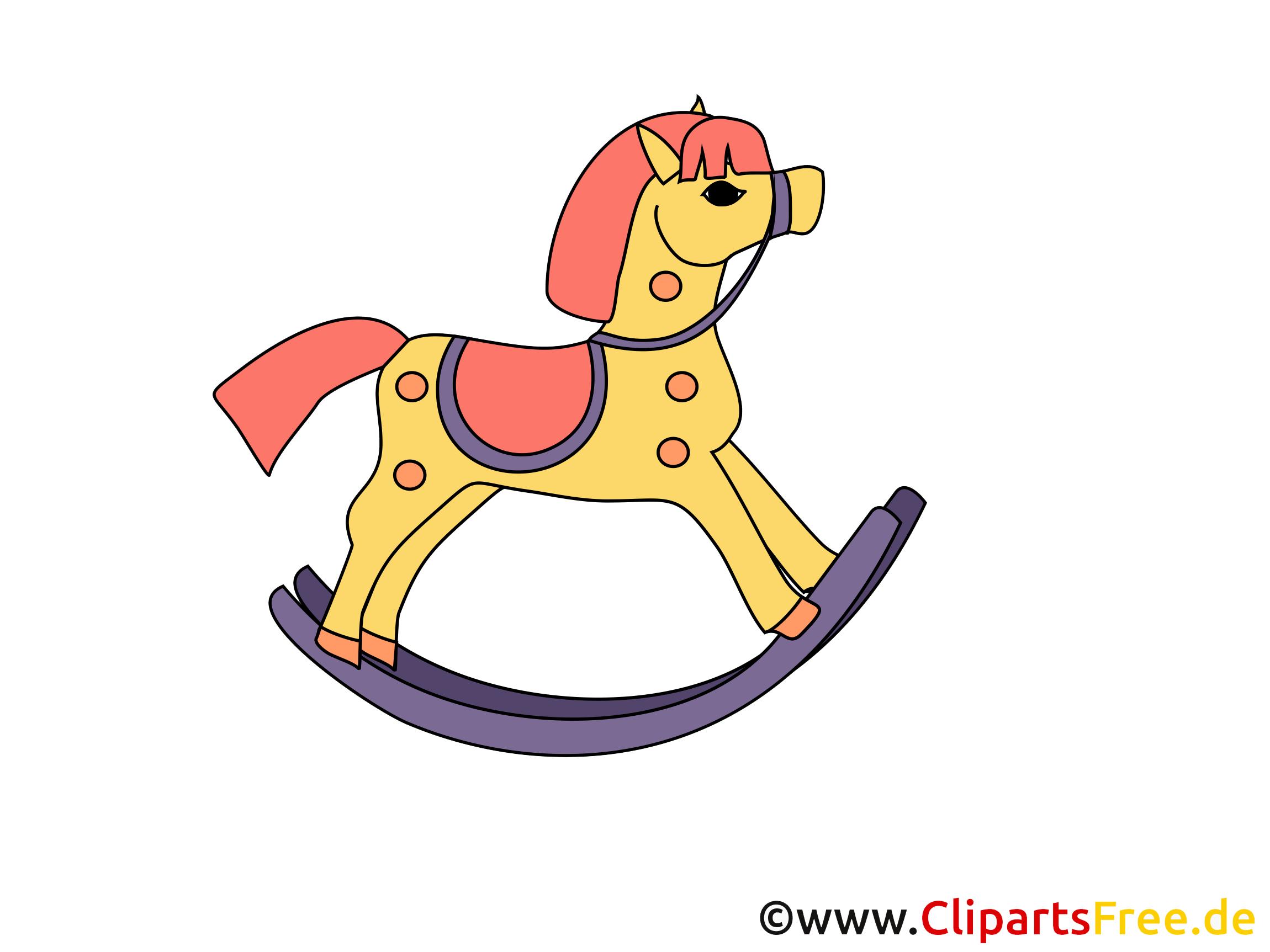 En bois dessins gratuits – Cheval clipart