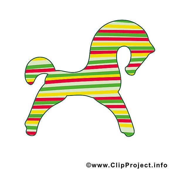 Jument clip art – Cheval image gratuite