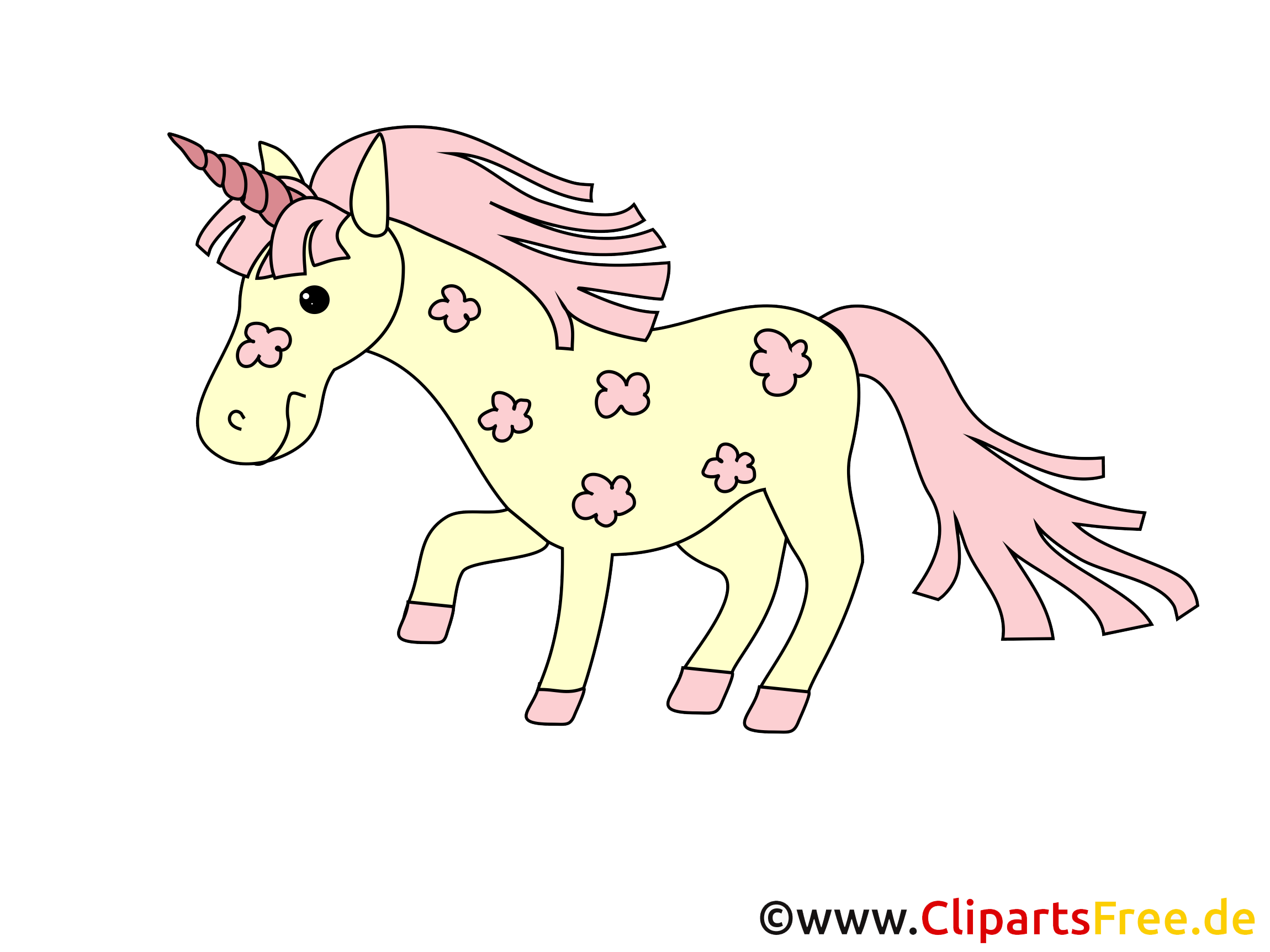 Licorne illustration – Cheval images