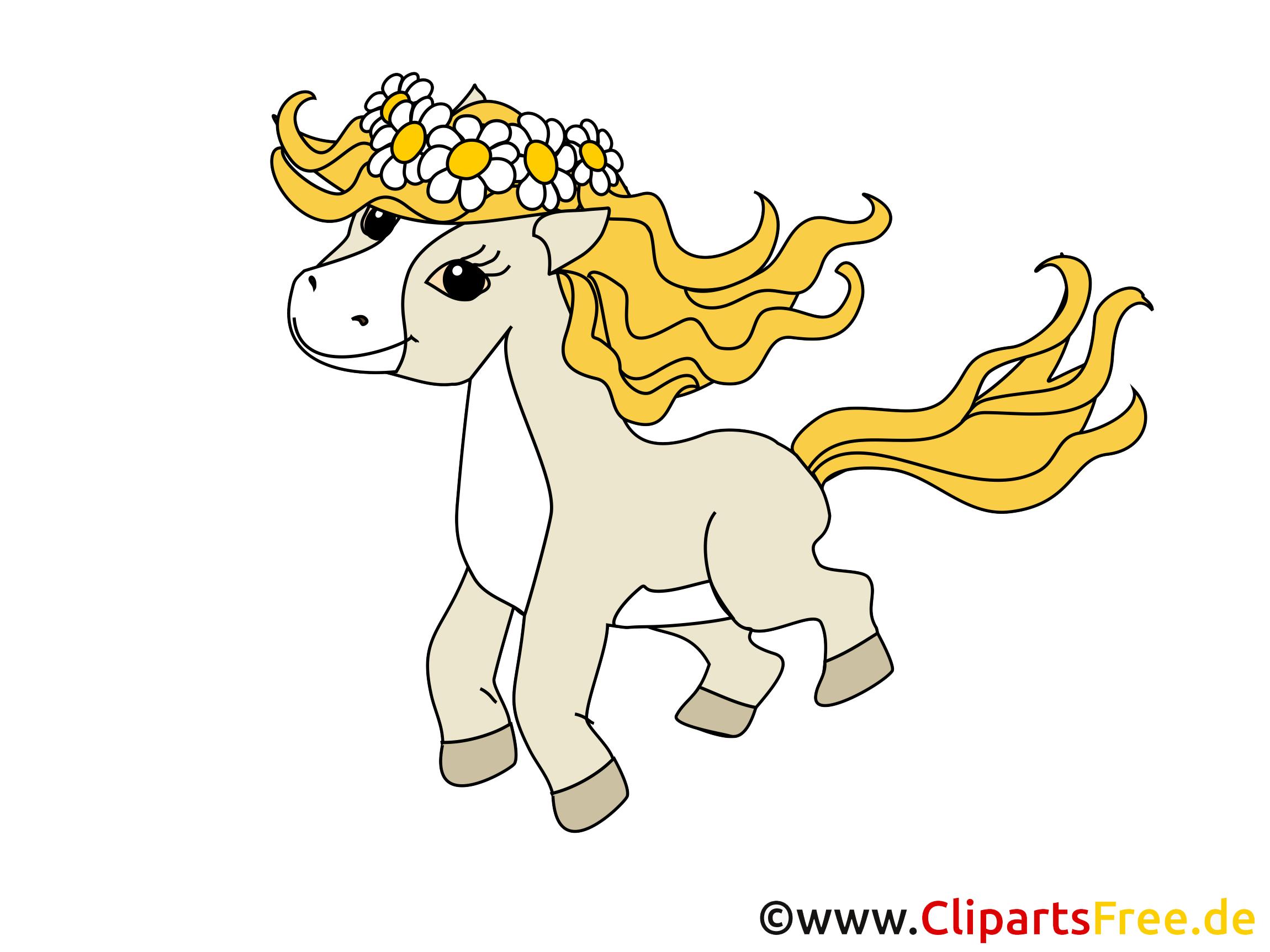Poney dessin gratuit – Cheval image